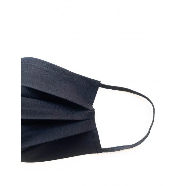 Genanvendeligt Mundbind - certificeret til 25 x vask på 60º - WOMEN BLACK